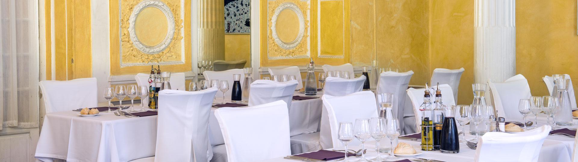 Restaurant de l'hôtel Le Royal à Nice