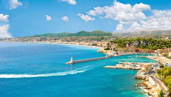 La Baie des Anges à Nice