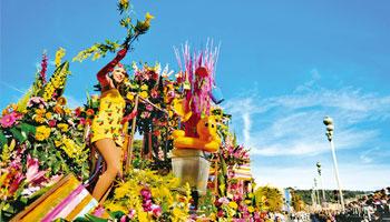 Carnaval de Nice proche de l'hôtel Le Royal**