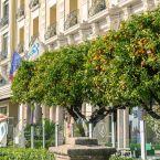 Extérieur de l'hôtel Le Royal à Nice
