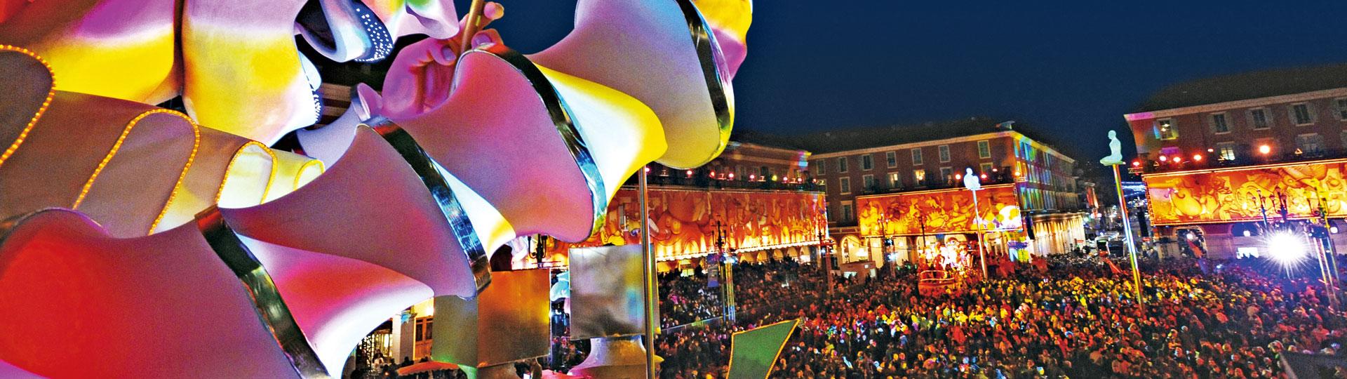 Carnaval de Nice en soirée