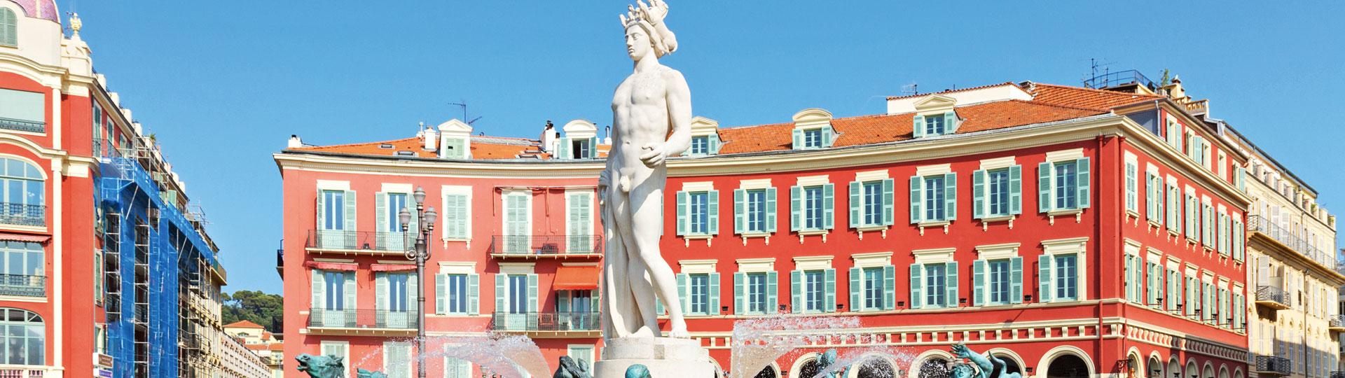 Statue Place Masséna , Nice