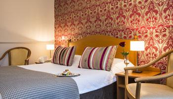 Chambre Twin & Double Côté Ville de l'hôtel Le Royal*** à Nice