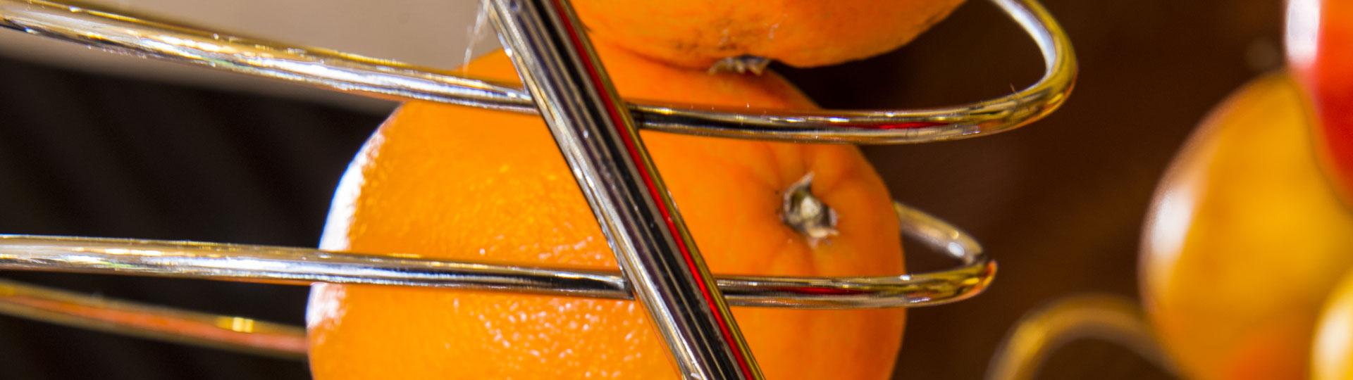 Oranges à l'hôtel Le Royal à Nice