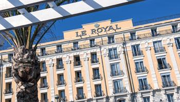 Hôtel Le Royal*** sur la Riviera à Nice
