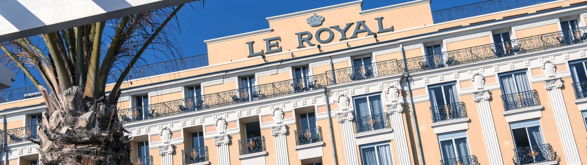 Hôtel Le Royal*** sur la Côte d'Azur à Nice