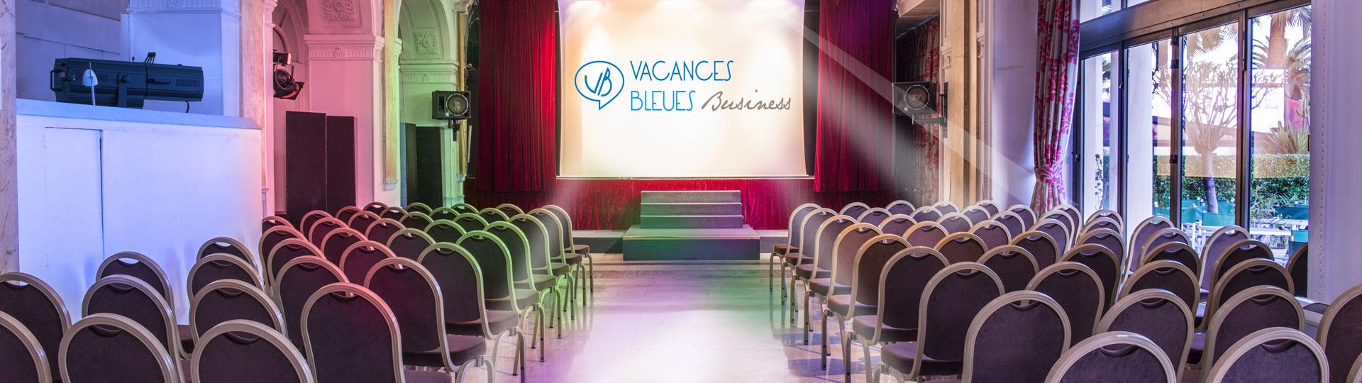 Salle de spectacle de l'hôtel Le Royal à Nice