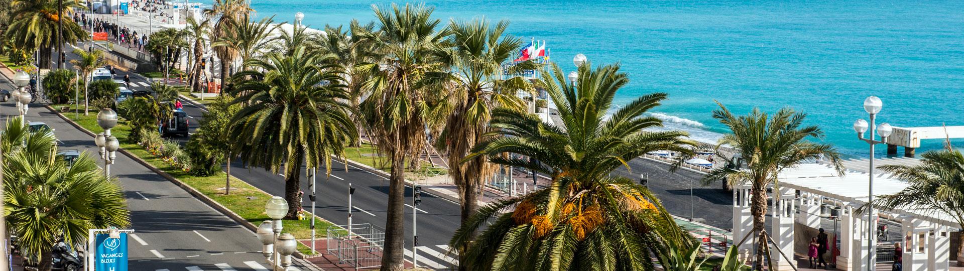 Hôtel Le Royal à Nice vue sur la mer