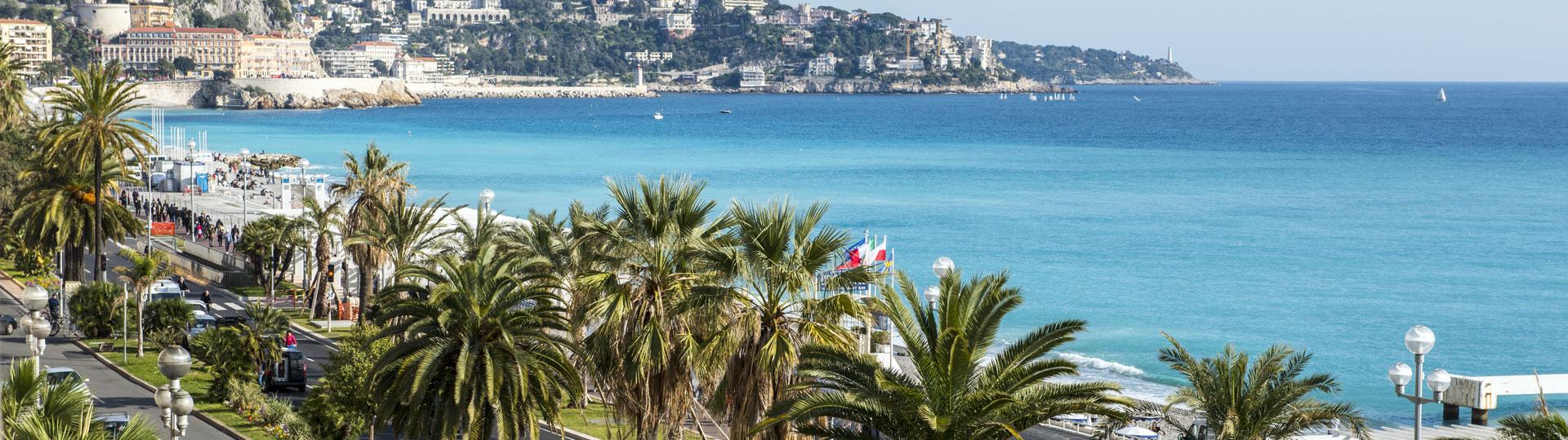 Vue mer depuis la chambre Privilège de l'hôtel Le Royal*** à Nice