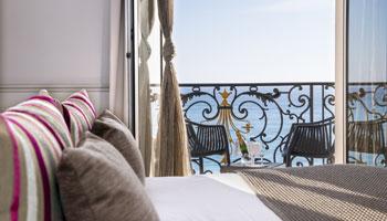 Chambre Twin & Double de l'hôtel Le Royal***