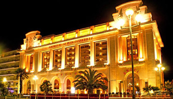 Casino sur la côte d'azur à nice
