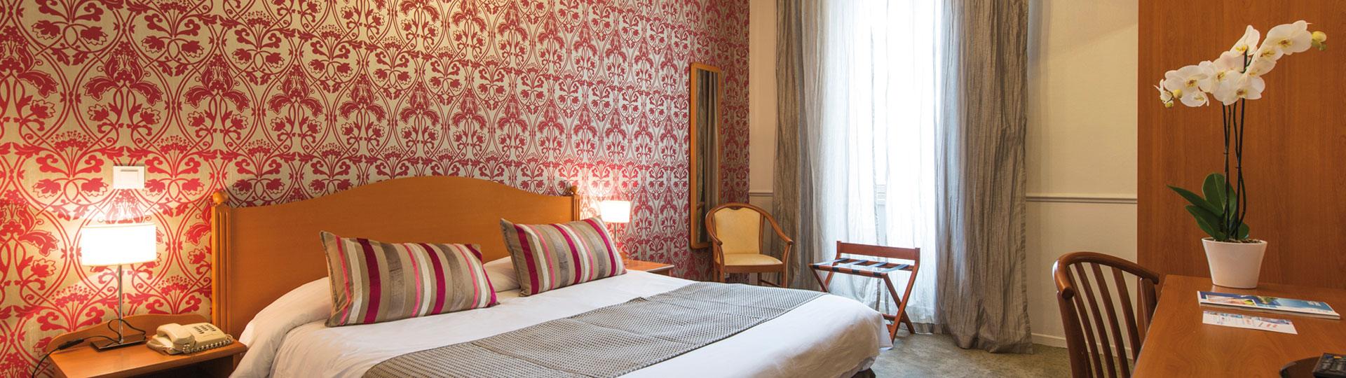 Chambre double , twin de l'hôtel*** Le Royal à Nice