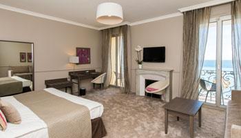 Chambre Executive de l'hôtel Le Royal*** Nice sur la côte d'Azur
