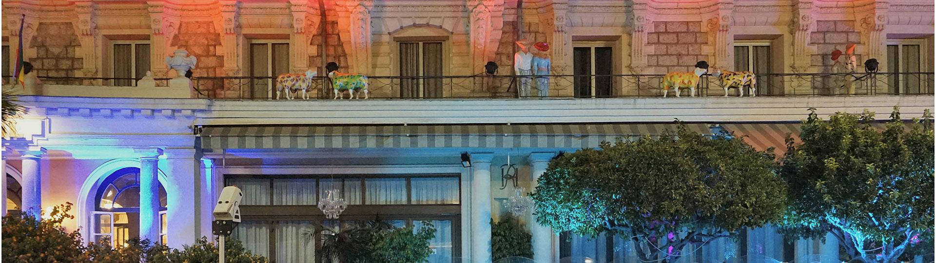 Animation au Royal à Nice