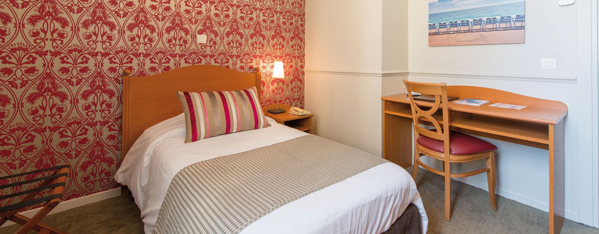 Chambres - Hôtel*** Le Royal à Nice