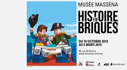 Affiche Lego Musée Massena