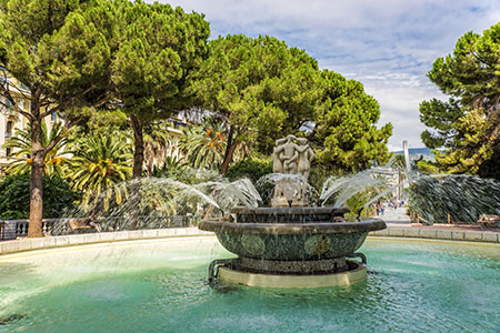 Jardin Albert 1er Nice