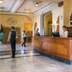 Réception de l'hôtel Le Royal à Nice