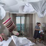 Photographie Aurore Valade d'une chambre à l'hôtel Le Royal Nice